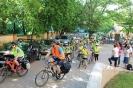 2018. 05. 04. Mindszenty-zarándoklat, kerékpárosok indulása az iskolából